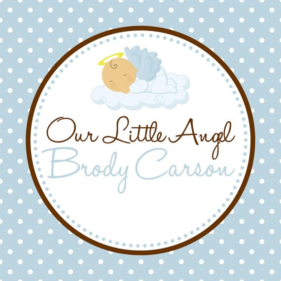 Baby Boy Baptism Party Package Boy DIY by PartySoPerfect on Etsy, $23.00