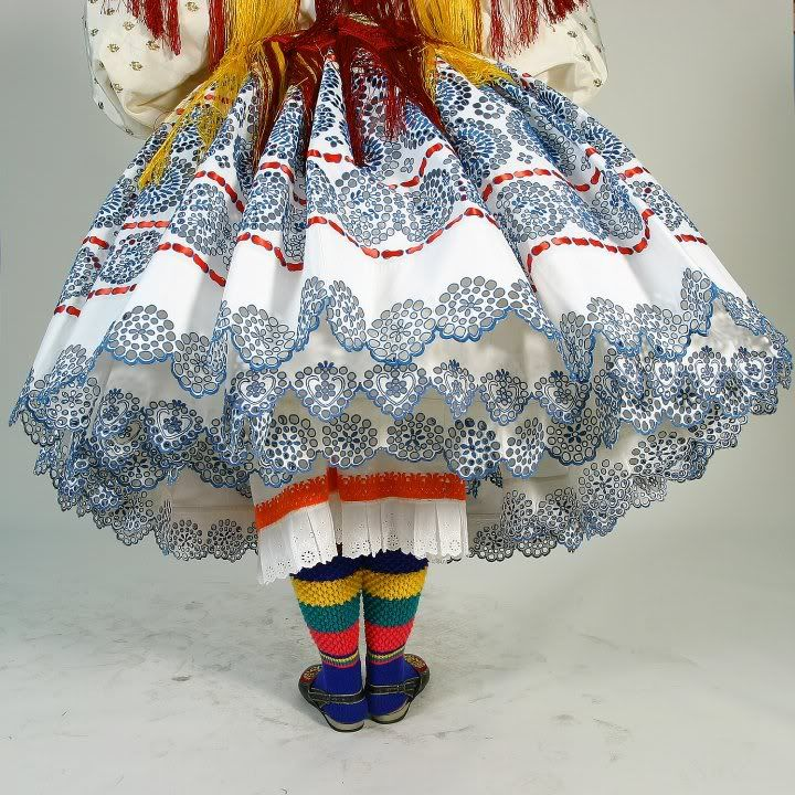 National costume characteristic for the town of Valpovo in Slavonia (Croatia)