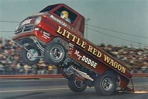 I saw this when I was a kid in Michigan and it ran the whole quarter-mile just like this! ca. 1966
