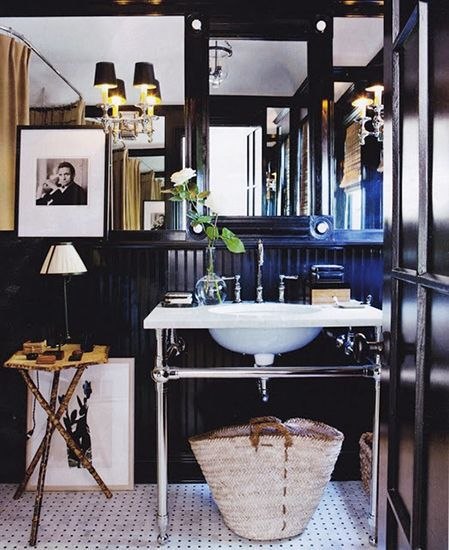 25 Best Ideas About Masculine Bathroom On Pinterest Black Bathroom Paint Black Wall Tiles And Large Style Toilets