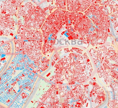 Ito Map Lets You View Land Use Transport Infrastructure Population And Demographic Data
