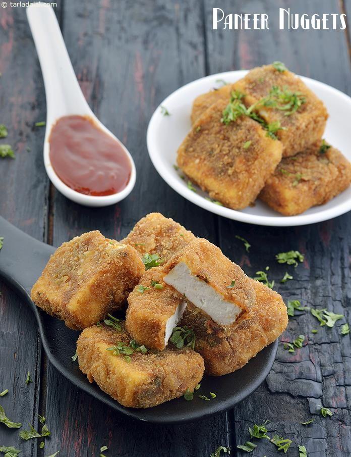 Paneer Nuggets, Quick Paneer Deep-fried Snack