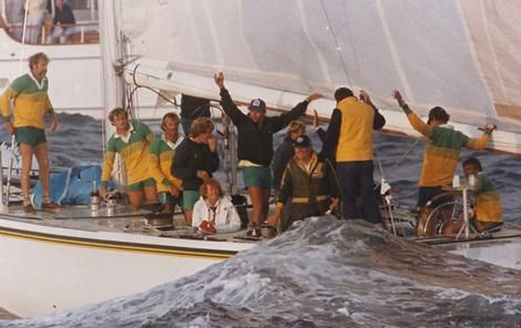 America's Cup victory 1983