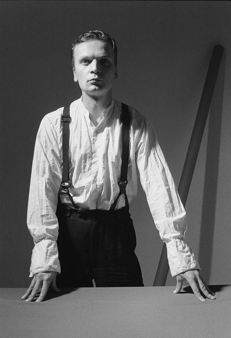 Polish musican and poet - Grzegorz Ciechowski (1957-2001)