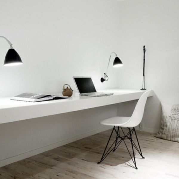 les 25 meilleures id es concernant le tableau bureau pour deux personnes sur pinterest bureau. Black Bedroom Furniture Sets. Home Design Ideas