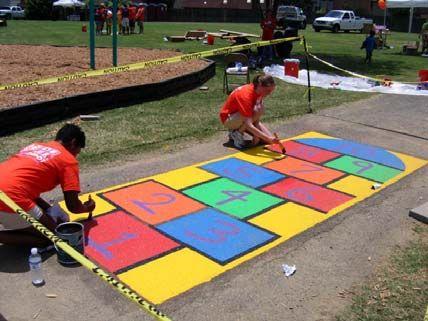 23 best preschool playground ideas images on pinterest for Kindergarten playground design