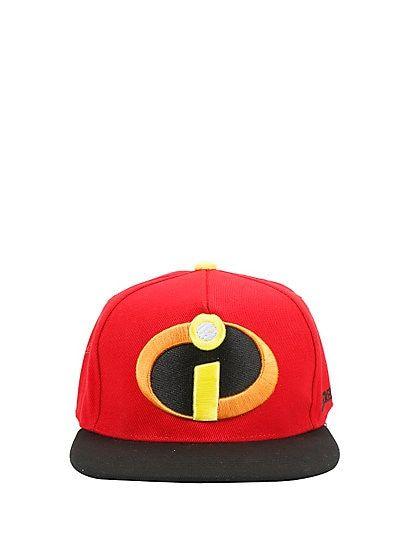 cf9367c57c509 Disney The Incredibles Logo Snapback Hat