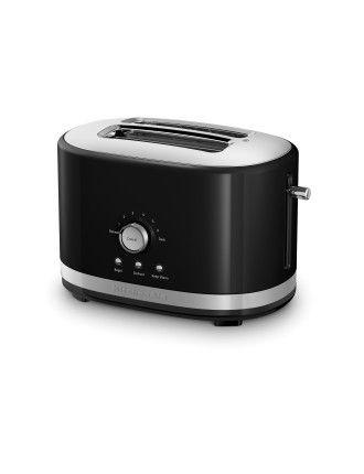 KMT2116 Long Slot 2 Slice Toaster  - Black