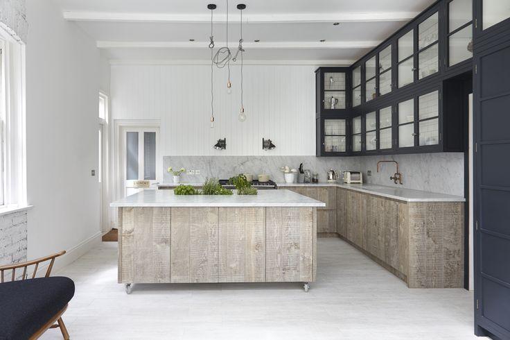 cocina con encimera granito - El top 3 en encimeras de cocina: granito, mármol sintético y madera