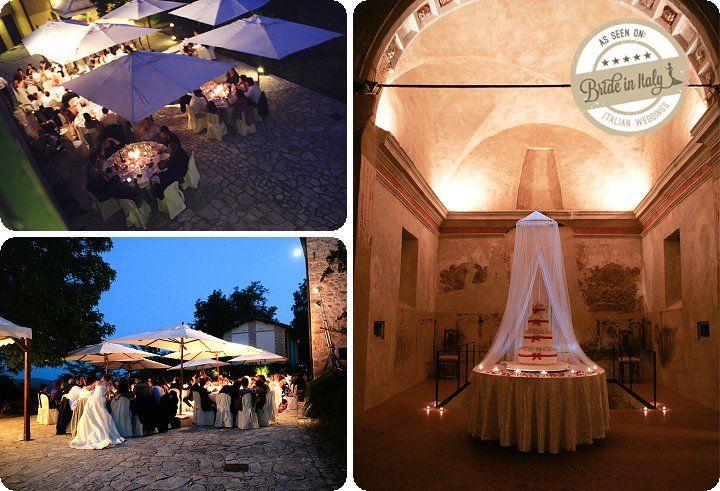 Castello di Sarzano in Casina (RE), a rustic castle / farmhous for an informal, classy reception. Ph Purewhite Photography http://www.brideinitaly.com/2013/11/purewhiterustico.html #italy #wedding