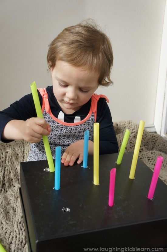 Push And Pull Homemade Toy Box For Children Play Diy