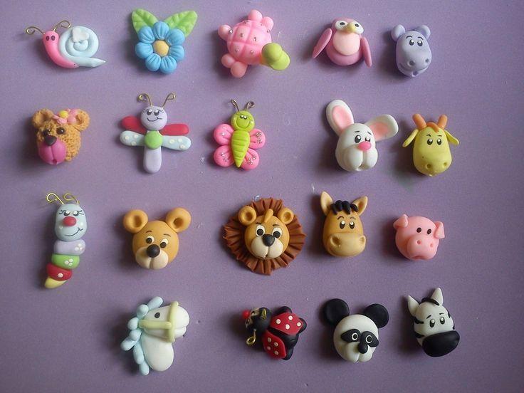 Resultado de imagen para modelar animalitos con porcelana fria