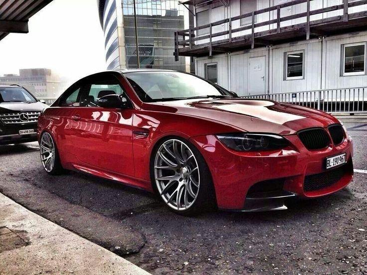 BMW E92 M3 red