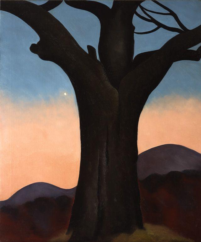 Georgia O'Keeffe (American, 1887-1986), The Chestnut Grey, 1924. Oil on canvas, 36 x 30 1/8 in.