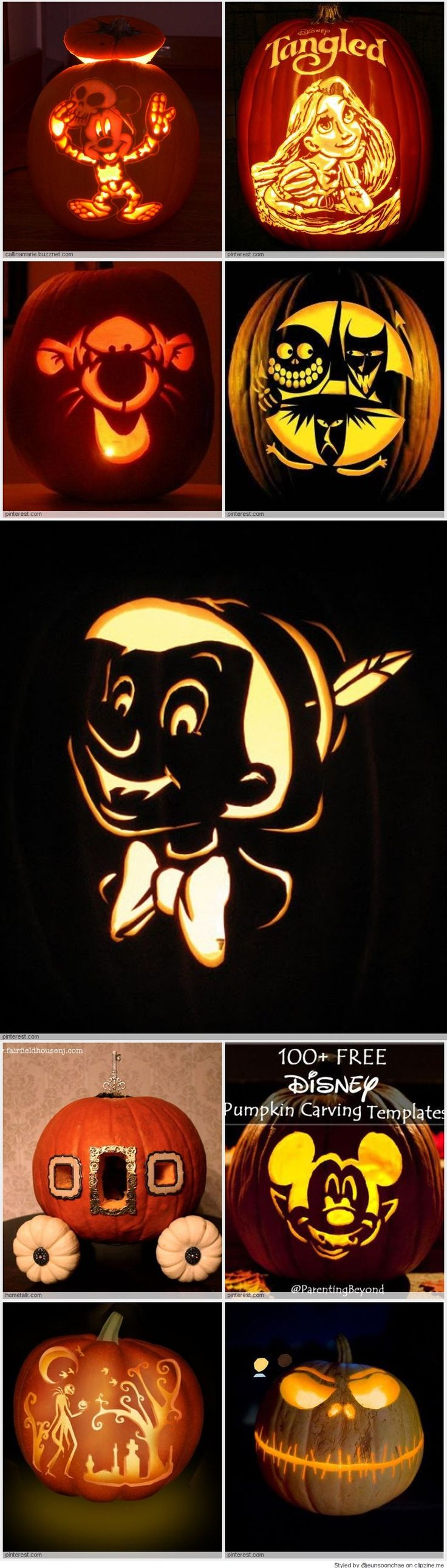 Disney Pumpkin Carving Ideas
