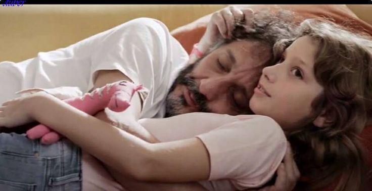 Fito Páez y Margarita su hija
