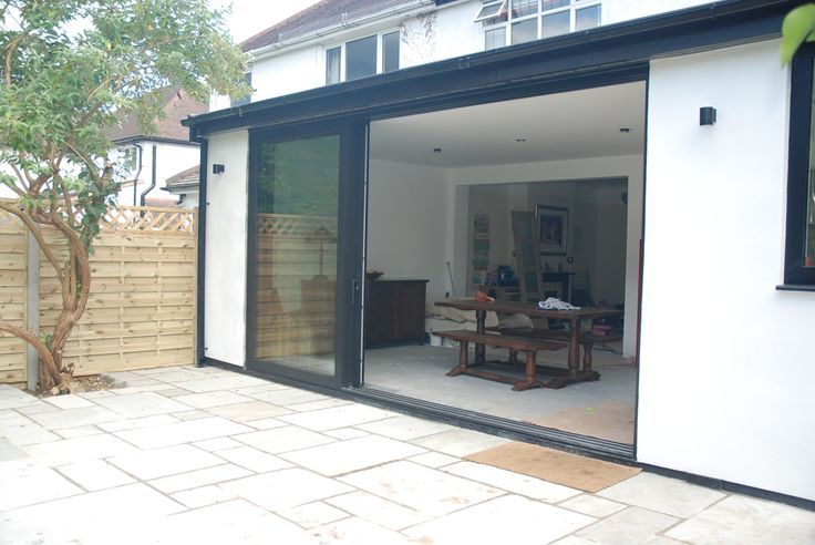 Outside In Door Ideas Kitchen Diner Extension Home