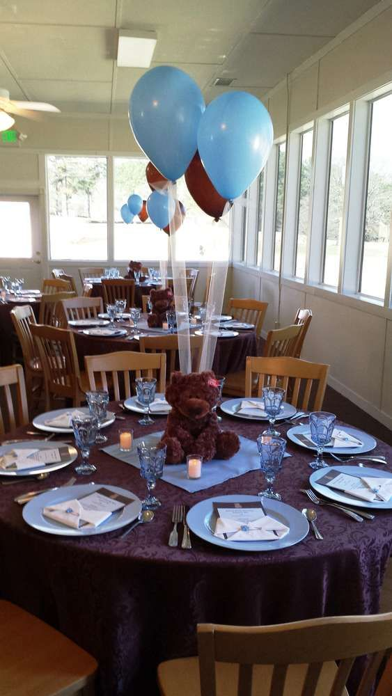 Teddy Bear Baby Shower Party Ideas