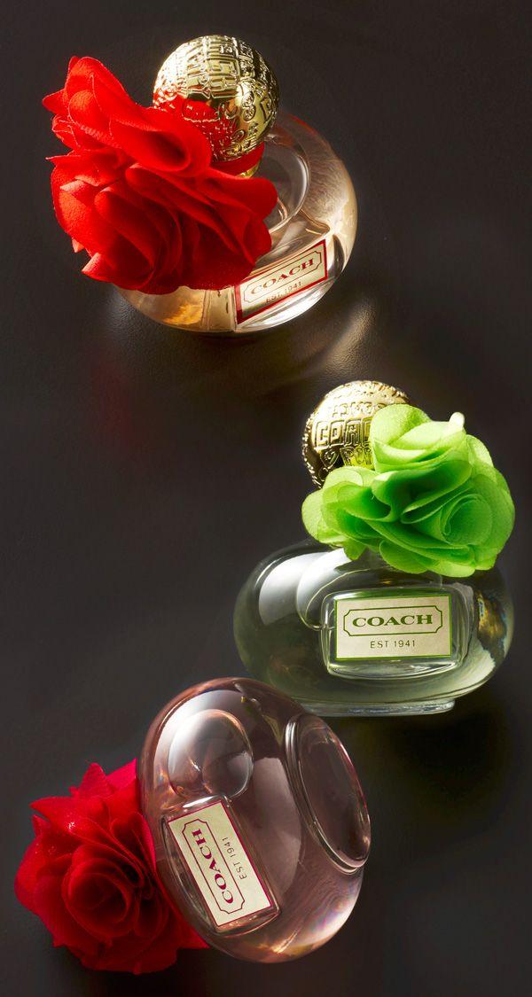Coach Perfume - Poppy Blossom, Poppy Citrine Blossom, Poppy Freesia Blossom