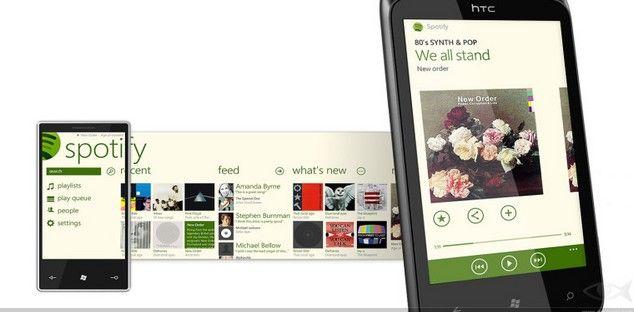 Spotify GRATIS en Windows Phone