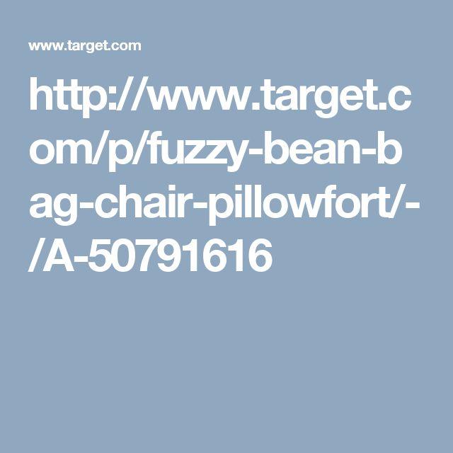 Target P Fuzzy Bean BagsWingback ChairBean