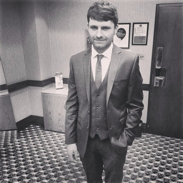 Mike Duce in a suit