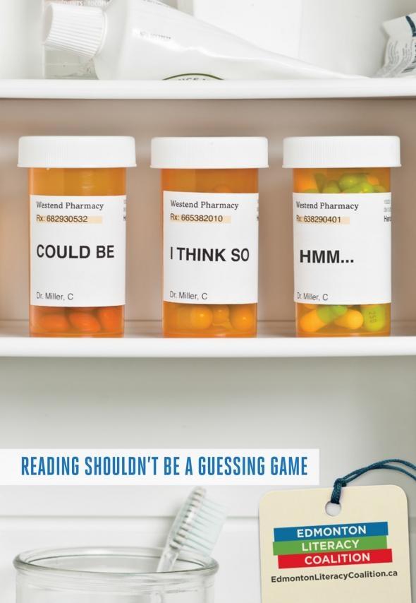 Edmonton Literacy Coalition: Pills