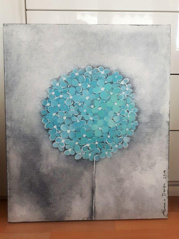 Acrylic painting by Hammi´s Design. Flower Tree <3