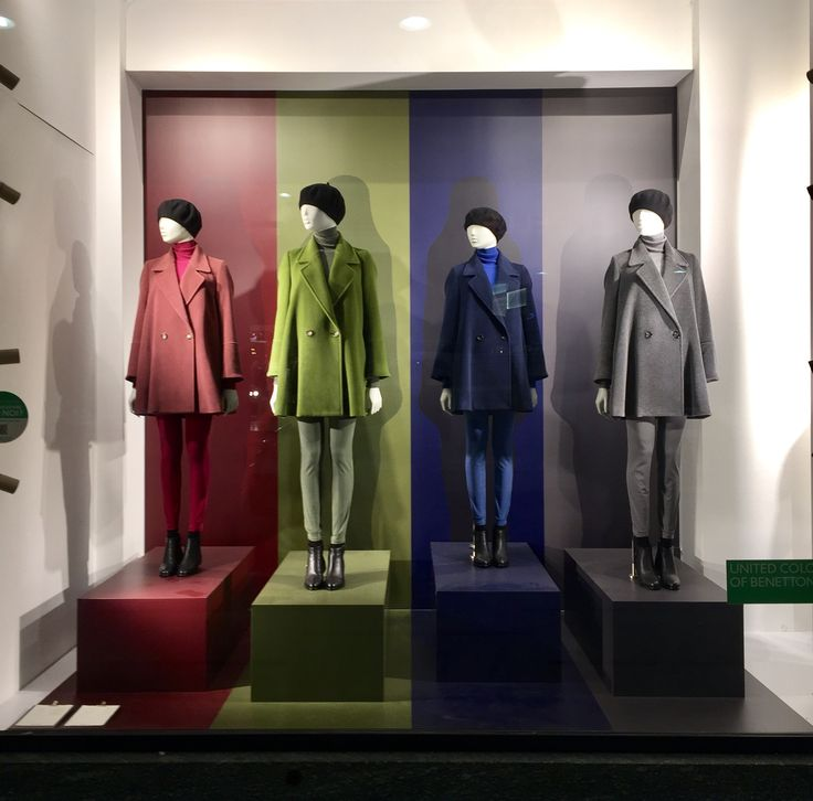 """UNITED COLORS OF BENETTON, Milan, Italy, """"Colors, like features, follow the changes of the seasons"""", photo by Dahlia-Image in Action, pinned by Ton van der Veer"""