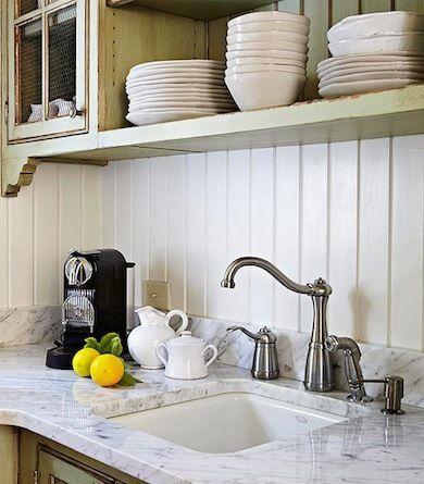 wood paneling backsplash ideas for a unique kitchen bob vila - Kitchen Paneling Ideas