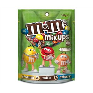 A box of 12 M&Ms Mix Ups Bags.