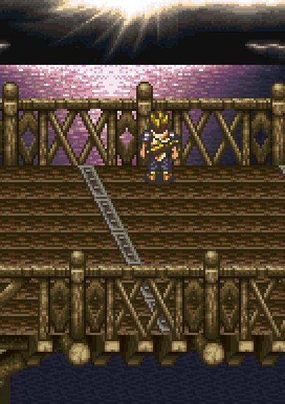 Cyrus - Chrono Trigger - Square-Enix, SNES, 1995.