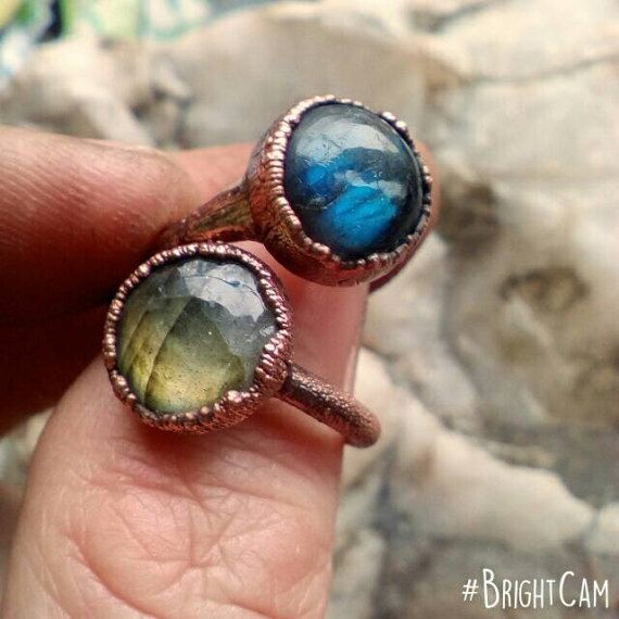 Check out this item in my Etsy shop https://www.etsy.com/listing/502446418/labradorite-ring-crystal-ring