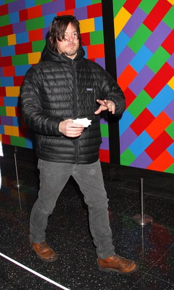 Norman Reedus attends the 'Nymphomaniac Volume I' screening at The Museum of Modern Art on March 13 2014 in New York City
