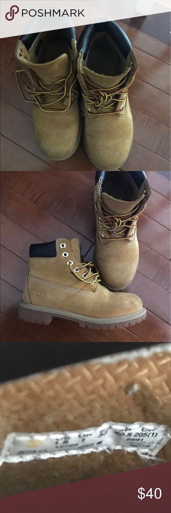 Boys Timberland Boots Boys Timberland Boots size 1.5 Timberland Shoes Boots