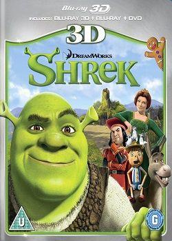 Shrek 1 - 2001 BluRay 3D HSBS 1080p DuaL TR-ENG