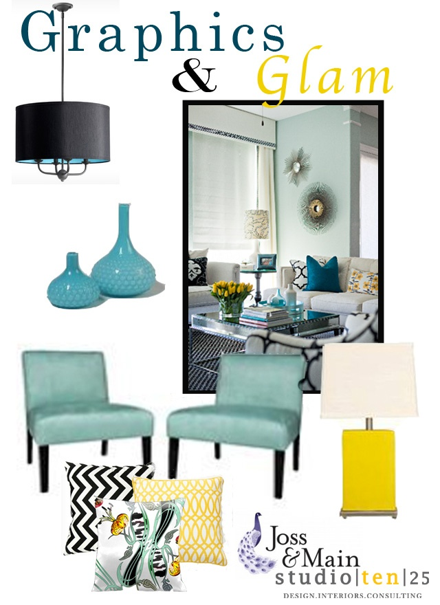 Light: Living Rooms, Decor Ideas, Mirror Coff Tables, Inki Blue, Blue Pillows, Colors Decor, Mirror Coffee Tables, Rooms Ideas, Glam Graphics