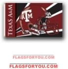 Texas A Aggies 3x5 Single Sided Flag