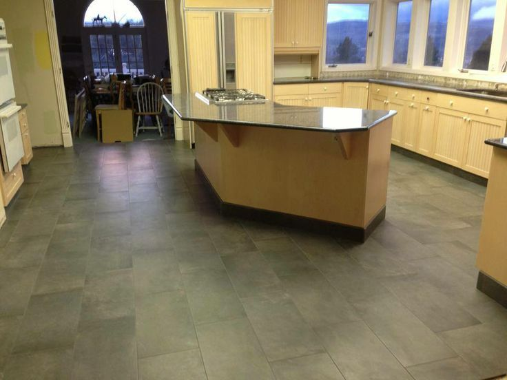 Kitchen Tile Floor By Gary Denney Floor Covering 816 W 6th St The Dalles