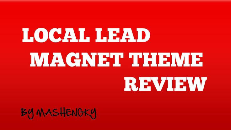 Local Lead Magnet Theme Review