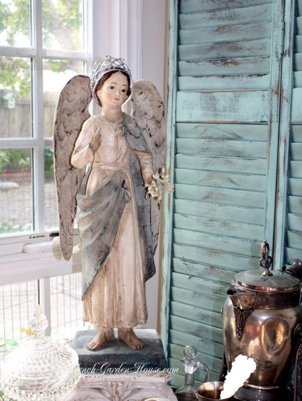 Exquisite Reproduction #Santos Angel Doll.# frenchgardenhousestyle