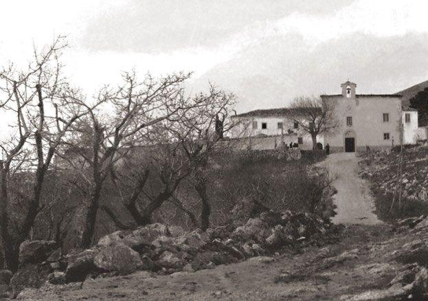 Convento di San Giovanni Rotondo agli inizi del Novecento