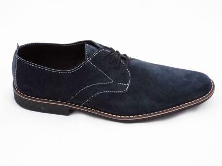 Pantofi barbati albastru inchis din piele intoarsa premium, cu talpa comfortabila cu toc la pretul de 139 RON. Comanda Pantofi barbati albastru inchis din piele intoarsa premium, cu talpa comfortabila cu toc de la Biashoes!