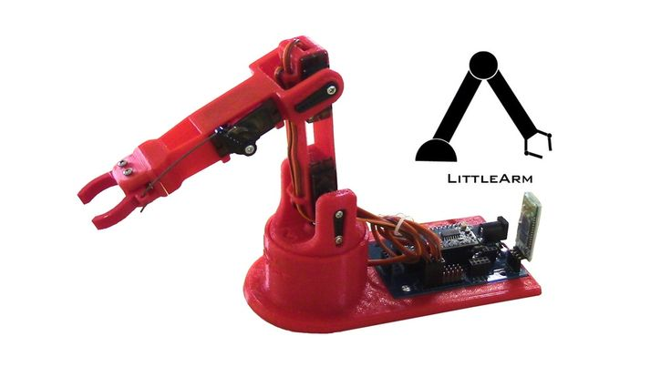 LittleArm 2C - Mini Arduino Robot Arm for STEM and Hobby