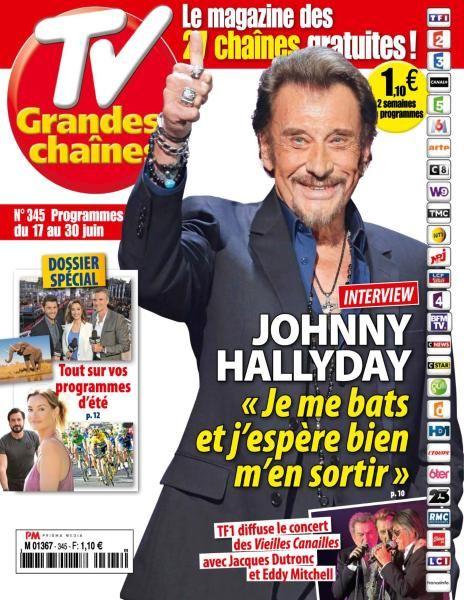 TV Grandes chaînes - 17 au 30 Juin 2017
