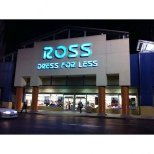 Ross -- This is another store that is comparable to T-J-Maxx & Marshalls. I can find very trendy clothing, terrific cosmetics, hair products & equipment, along with terrific furnishings for my apartment!!! Another store that I can get lost in for hours!!! :) :) :)