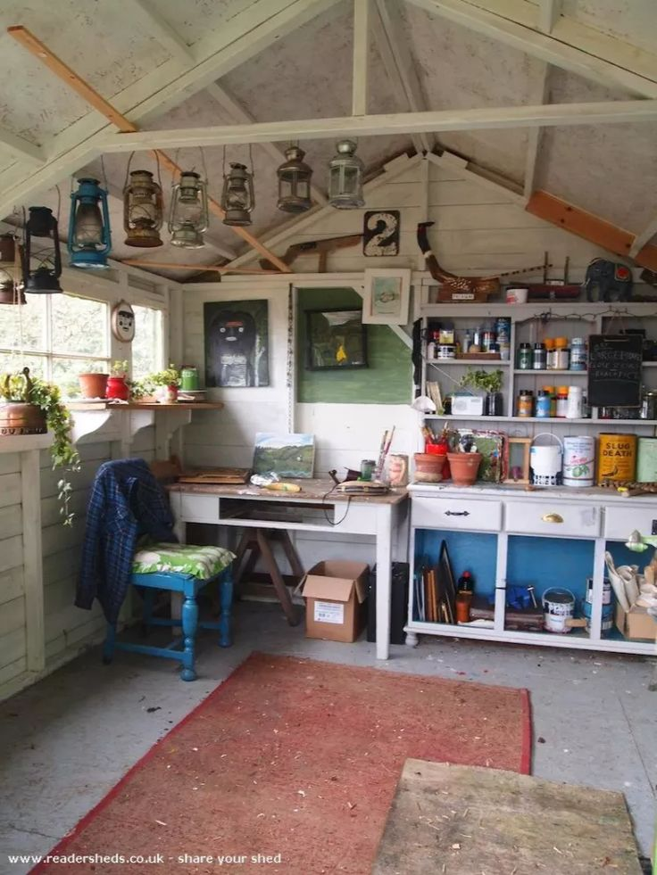 13 prefab sheds transformed into guest houses home for Prefab garage with studio