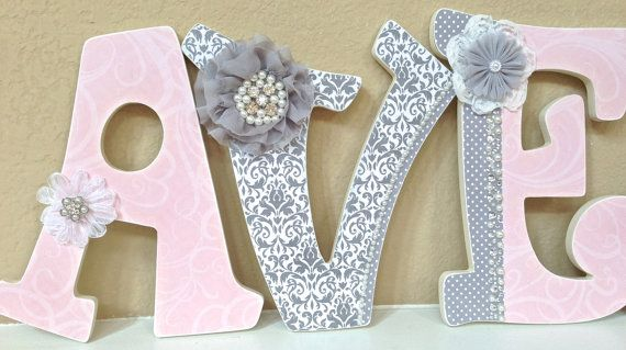 25+ Best Ideas About Hanging Letters On Pinterest
