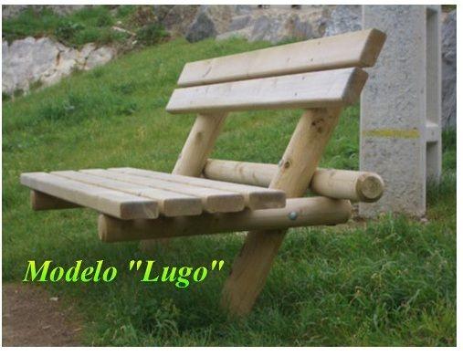 asientos rusticos para jardin - Buscar con Google