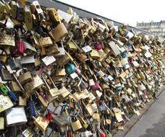 Padlock Bridge-Paris